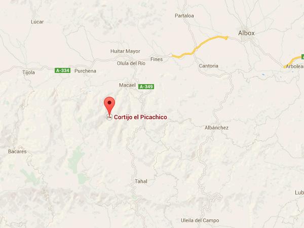 mapa de Meson Acacia