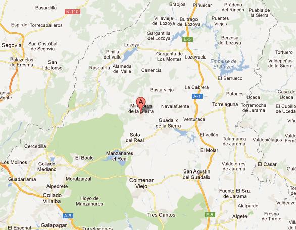 mapa de Meson Asador Maito