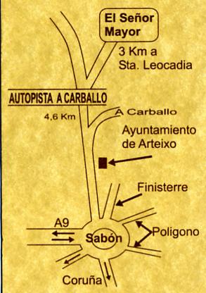 mapa de El Señor Mayor
