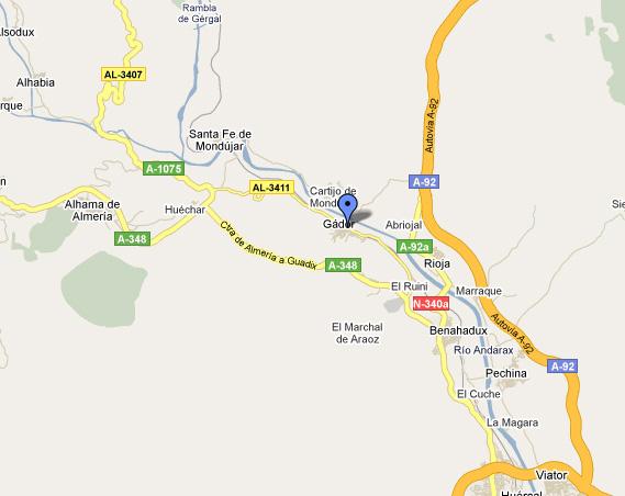 mapa de La Reja Mesón Rural