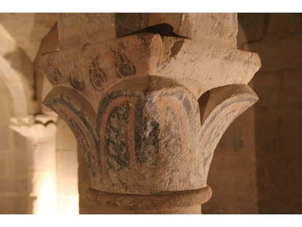 Cripta Románica del Siglo XII en San Martin de Unx