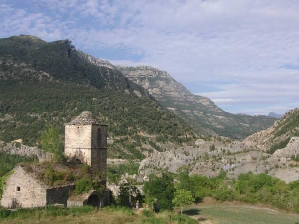 Rutas geológicas en BTT en Sobrarbe