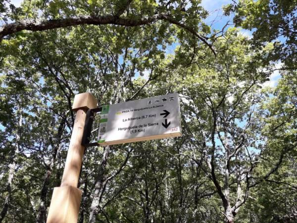 Camino del Molino de la Dehesa y del Haya