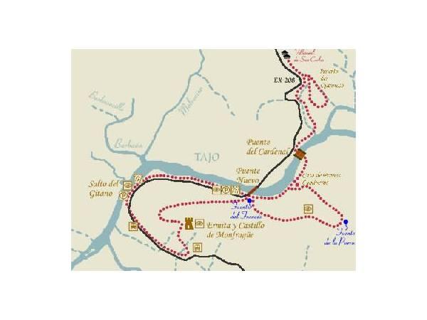 Monfragüe Ruta Roja