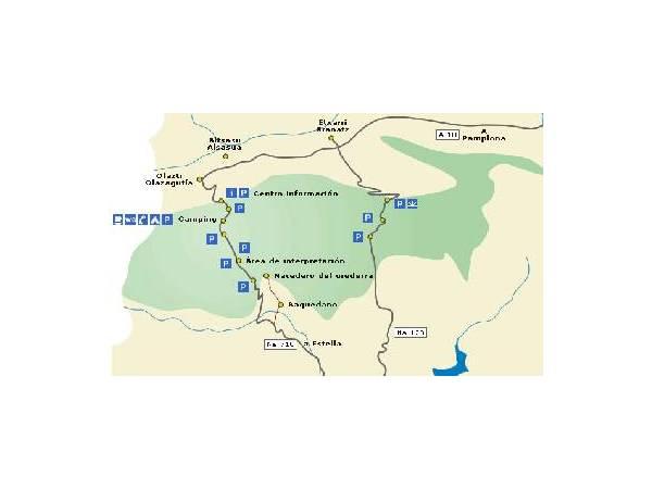Ruta de las Fuentes Parque Natural Urbasa