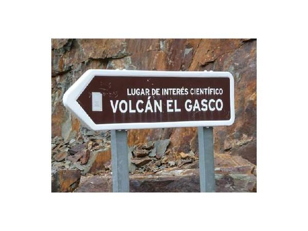 Volcán del Gasco lugar de interés cientifico