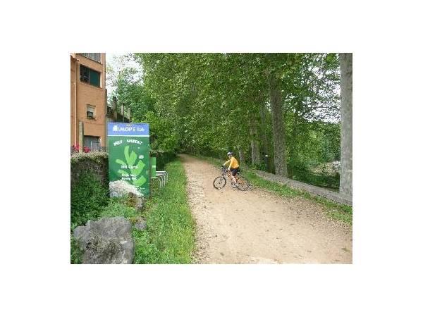 Carril Bici en La Cellera de Ter